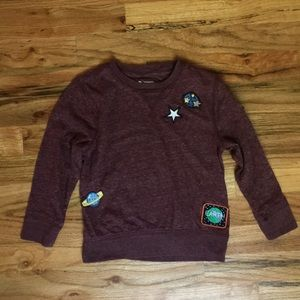 Tucker + Tate Appliquéd Long Sleeve T-Shirt